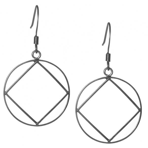 Style #1195, NA Sterling Silver Earrings, Extra Large Size