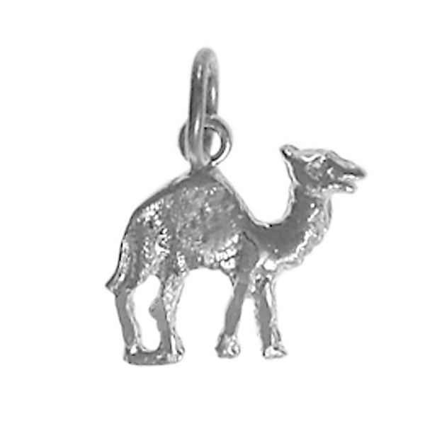 "Sterling Silver Pendant, Adorable Camel ""Can Go 24 Hours Without A Drink"" - Style #70-16"