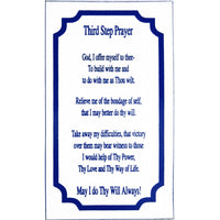 Alcoholics Anonymous Recovery Third Step Prayer Magnet - Style #M1
