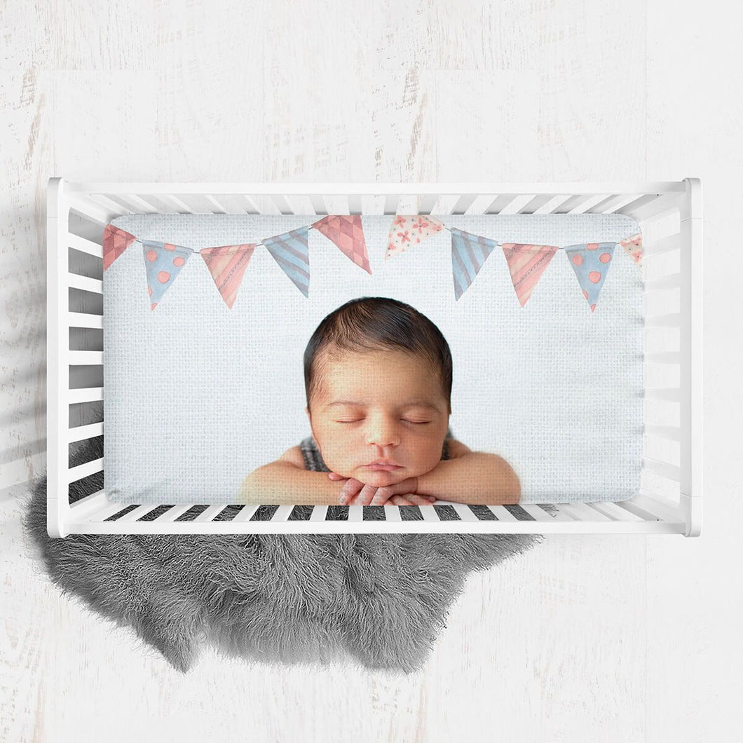 Custom Baby Crib Sheet