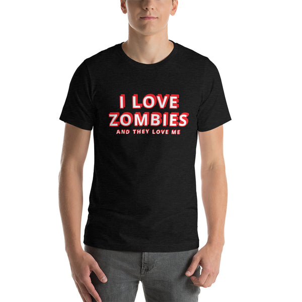 I Love Zombies / They Love Me T-Shirt