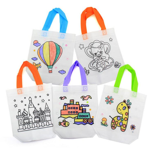 Antistress Puzzles Educational Bag for Children - BrightBailey