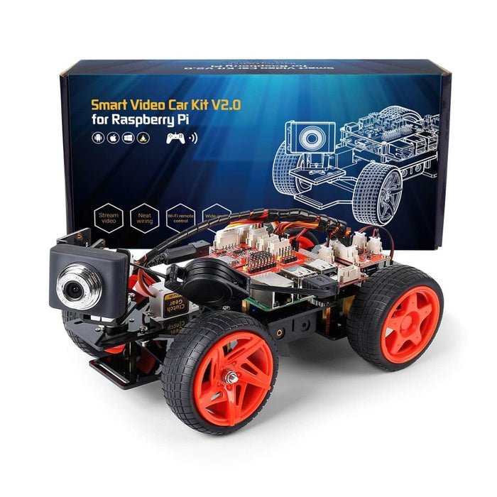 Remote Controlled Robot For Raspberry Car Kit - BrightBailey