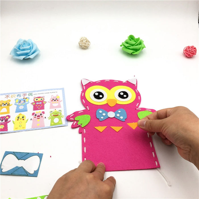 Animal Frog Educational Girl Craft - BrightBailey