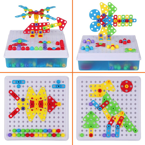 Drill Screw Group Puzzle Toys - BrightBailey