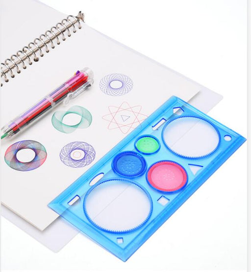 Interlocking Gears Wheels Painting Drawing Set - BrightBailey