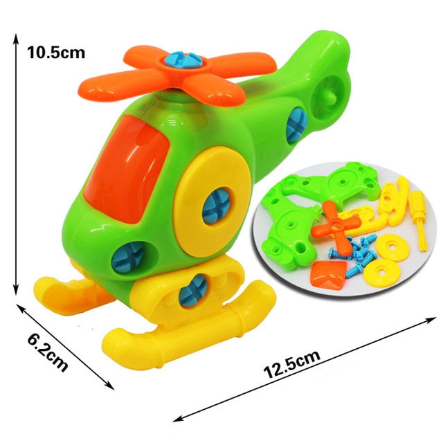 3d Puzzle Disassembly Motorcycle Toys - BrightBailey