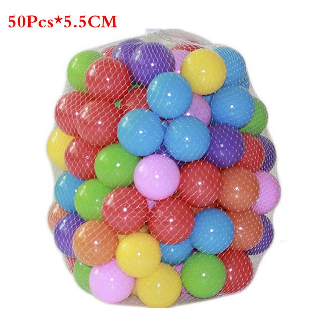 Colorful Pits Soft Plastic Ocean Ball - BrightBailey