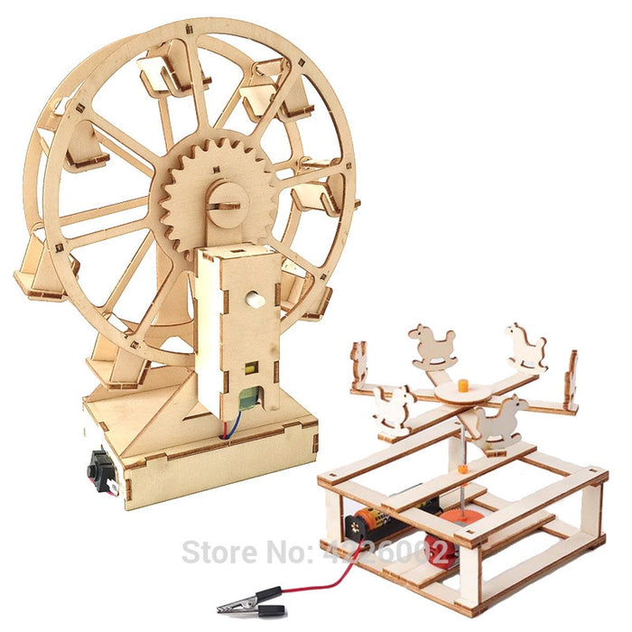 Wheel Carousel Science Experiment Toy - BrightBailey
