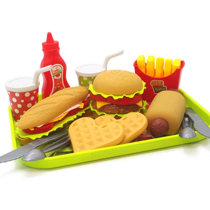 House Toy Plastic Drink Food Kit - BrightBailey