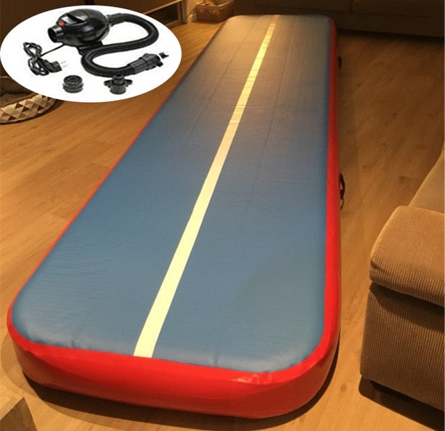 Electric Inflatable Track Gymnastics Mattress - BrightBailey