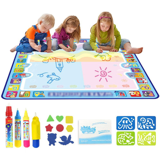 Magic Water Drawing Mat & Stamps - BrightBailey