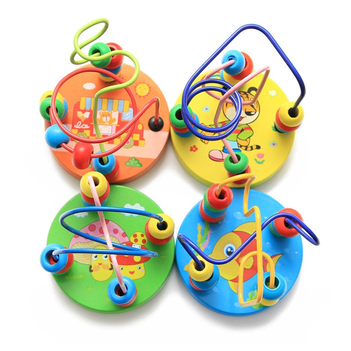 Lovely Animals Round beads Kids Toys - BrightBailey
