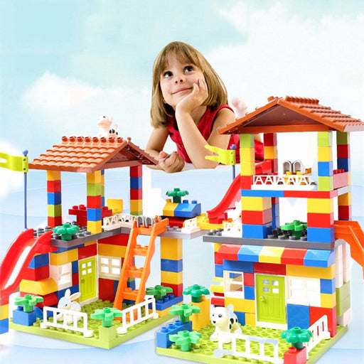 Big Size Slide Building Blocks toys - BrightBailey