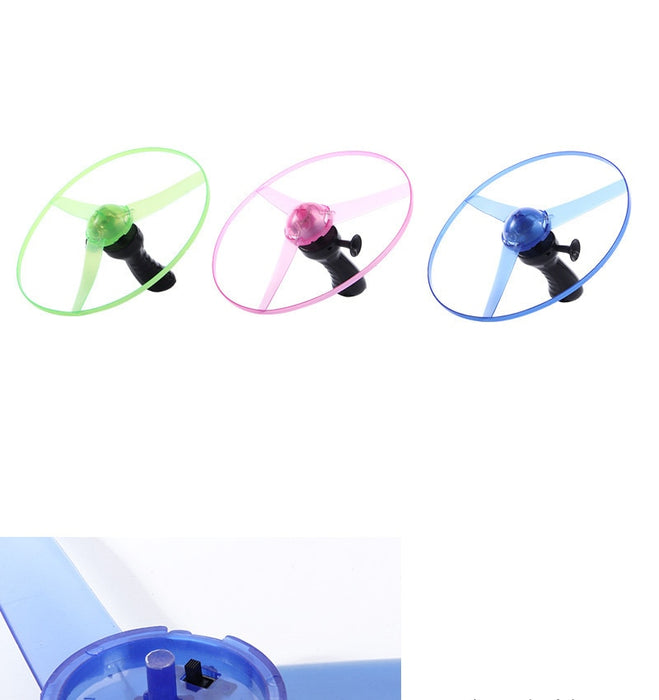 Outdoor sports pull line saucer toys - BrightBailey