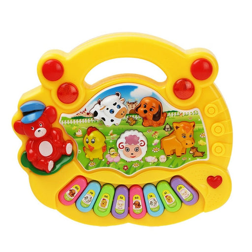 Musical Animals Sounding Keyboard Piano - BrightBailey