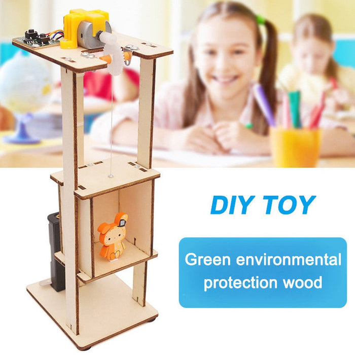 Diy Assemble Electric Lift Toy - BrightBailey