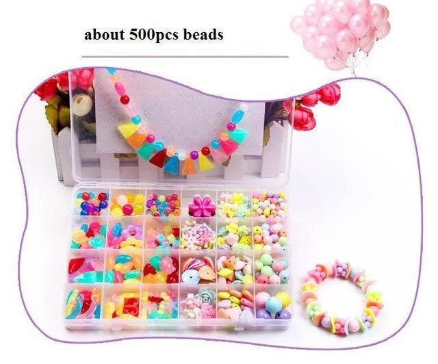 Children creative DIY beads toy - BrightBailey