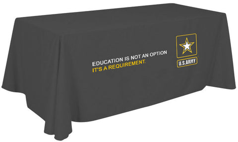 Army Education Branded 6' Tablecloth