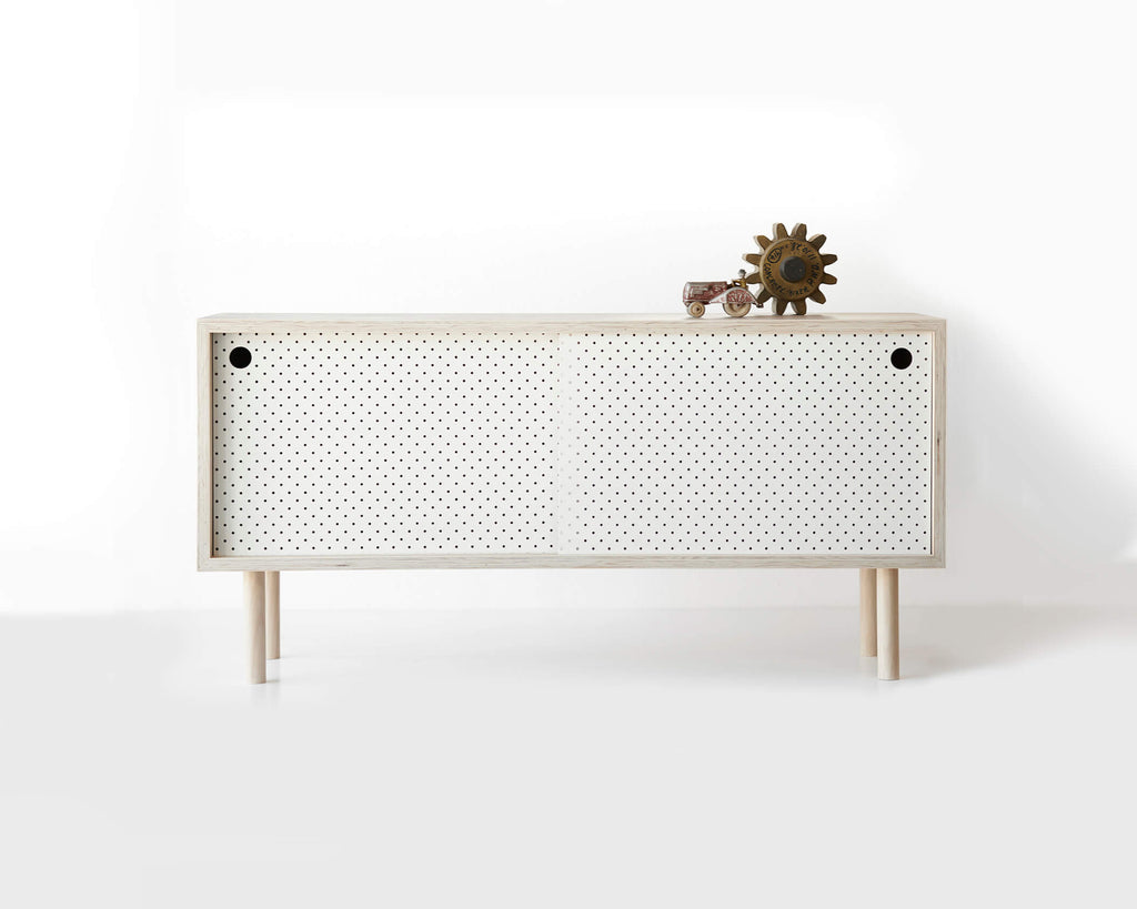 Pegboard and Ply Sideboard