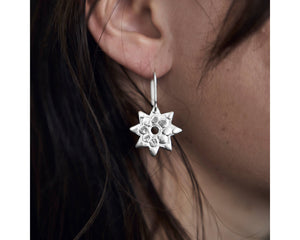 Stars of Aspiration earrings -Silver