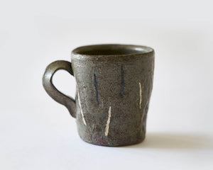 Mug with Matchstick pattern