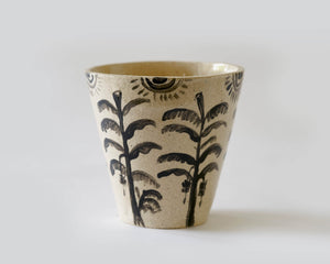 Marg and Leanne Culy plant pot colab- Tropical