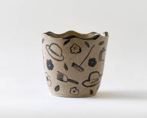 Marg and Leanne Culy colab plant pot- Gardening
