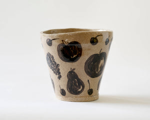 Marg and Leanne Culy colab plant pot- Fruity