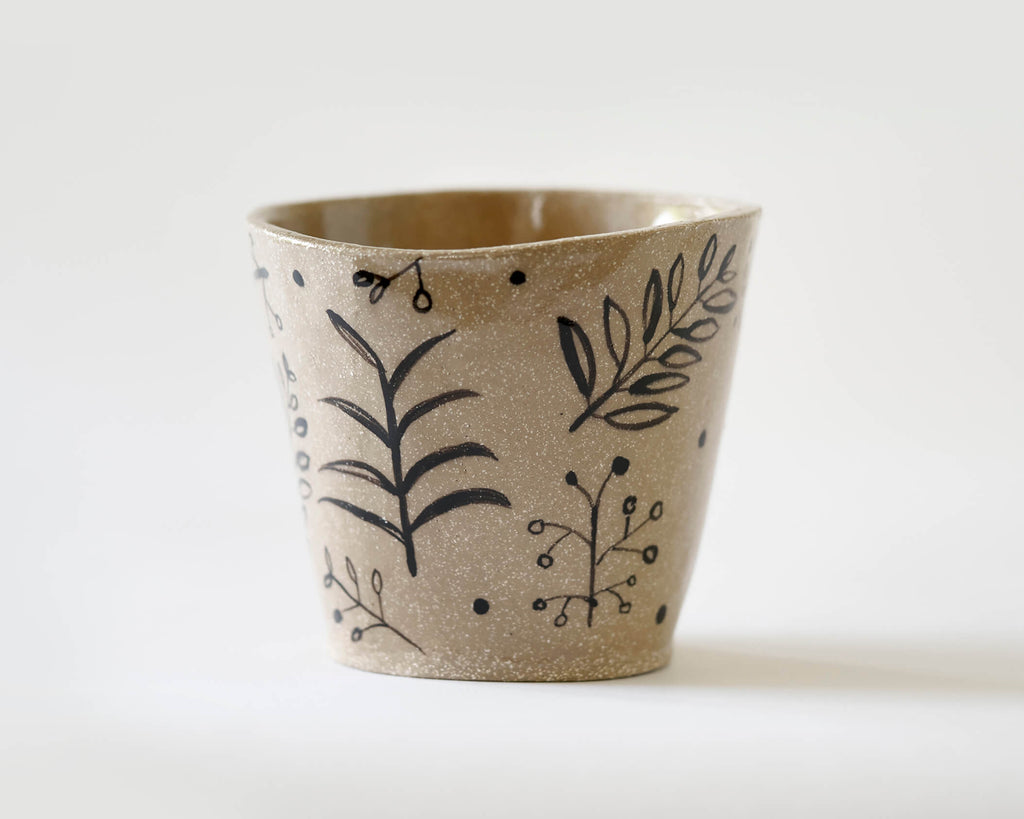 Marg and Leanne Culy colab plant pot- Sprig