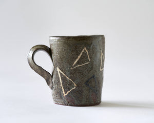 Mug with Arrowhead pattern by Scott Brough