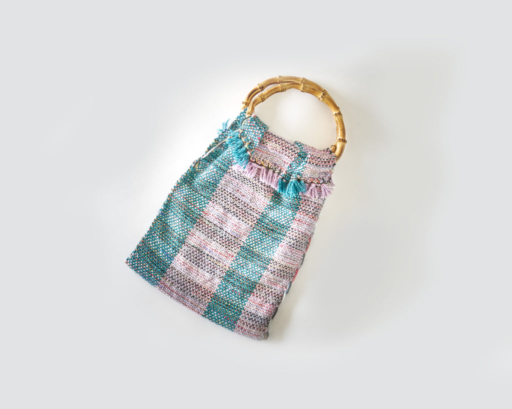 Woven Bag- Cane Handle