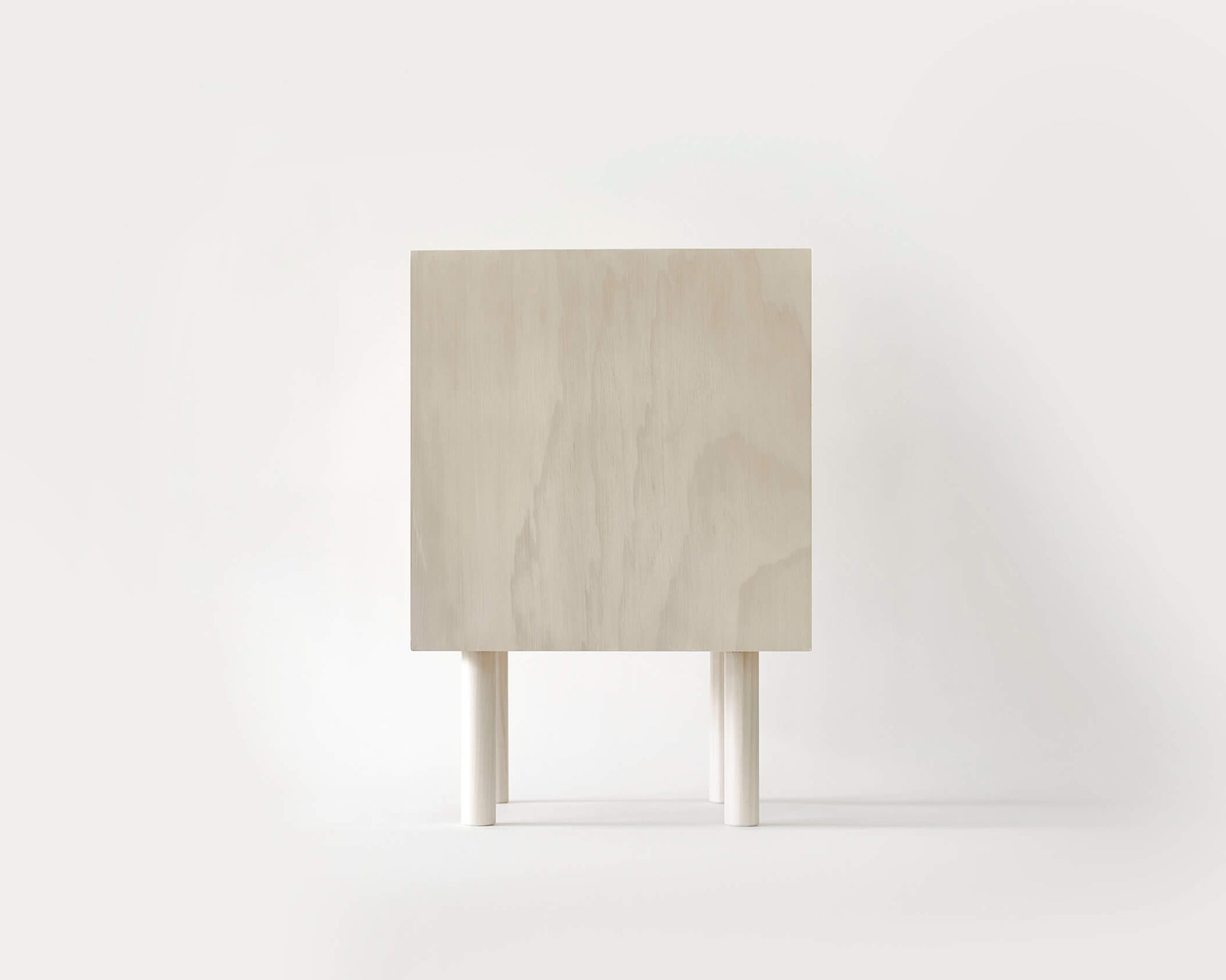 Pegboard and Ply Bedside Cabinet