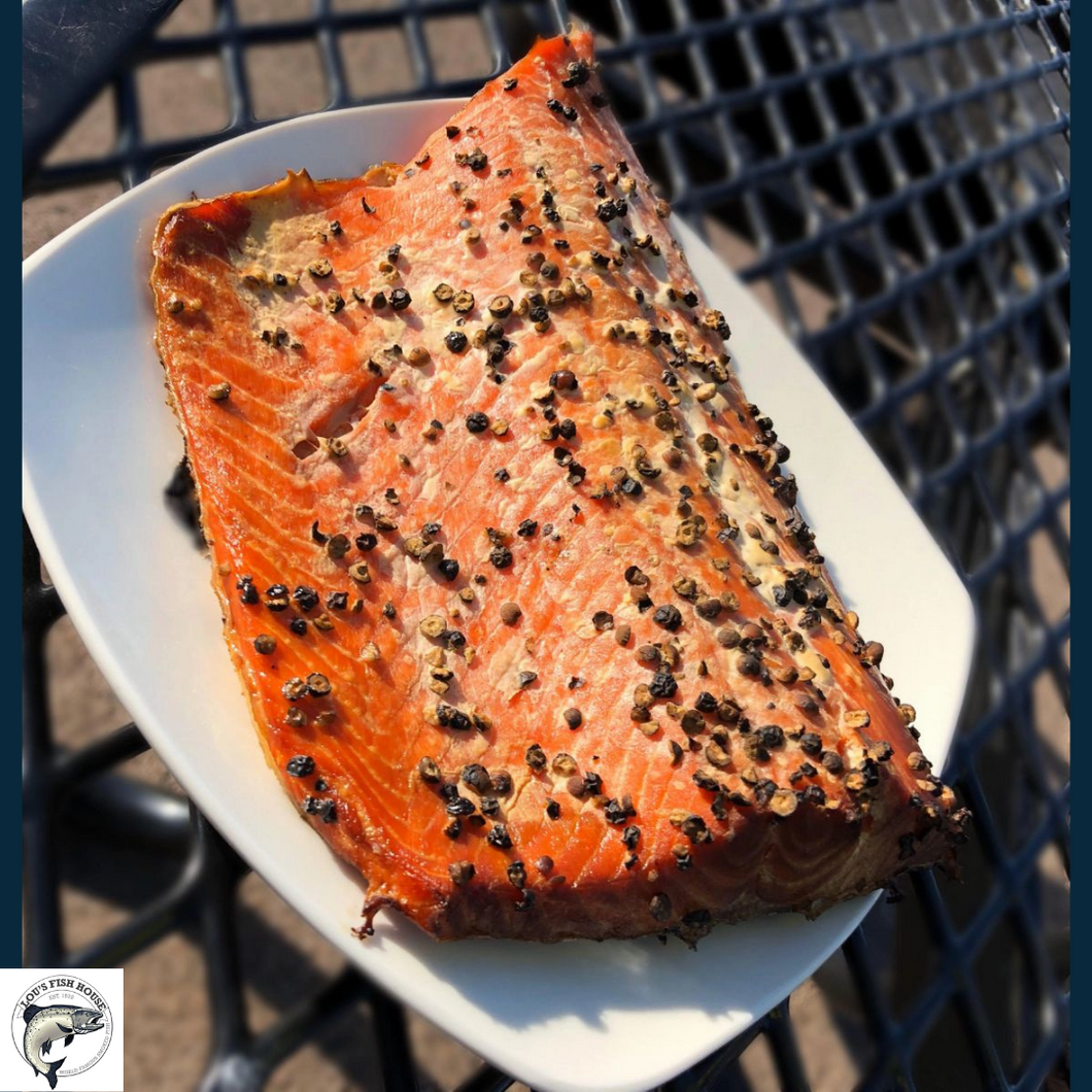 Peppercorn Salmon - 1 LB.