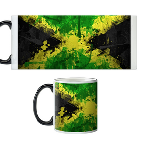 Jamaica Flag Custom Color Changing Mug