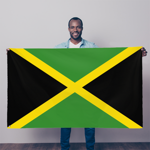 Jamaica Flag Simple Sublimation Flag