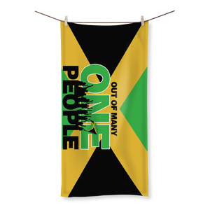 Jamaica Out of Many One People Towel