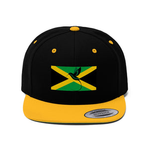 Homesick Jamaican Unisex Flat Bill Hat