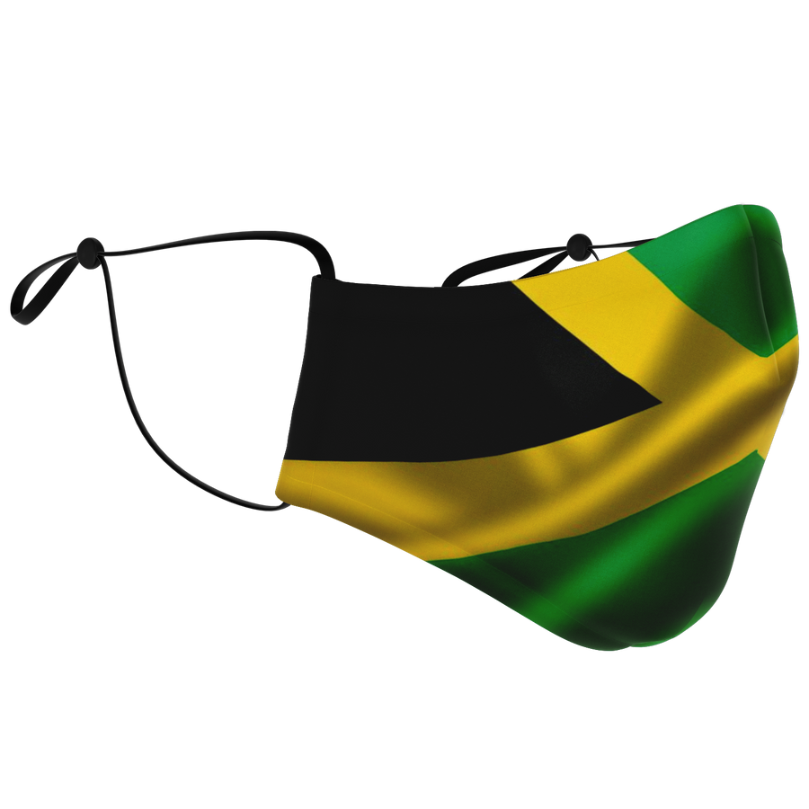 Jamaica Flag Facemask