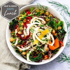 Ikarian Mixed Lentil Salad with Fennel
