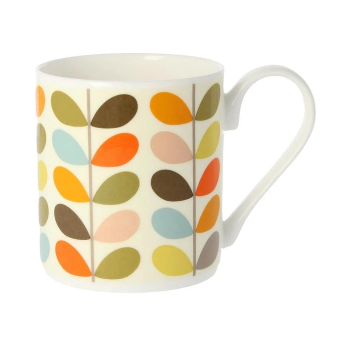 Orla Kiely Multi Colour Ten Stem Mug