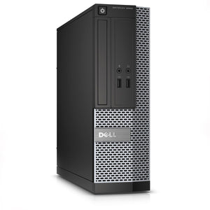 Dell Optiplex 3020 Desktop Intel Quad Core i5 3.2GHz 16GB Ram 120GB SSD Windows 10 Pro thumbnail