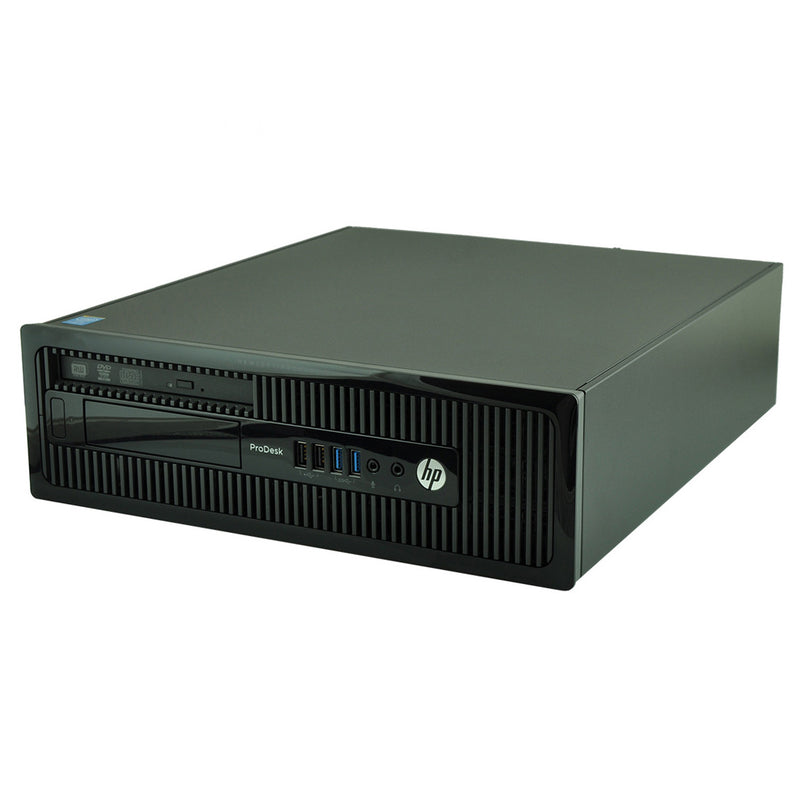 HP Desktop Computer G400 G1 Intel Pentium 3.0GHz 16GB 480GB SSD Windows 10 Pro