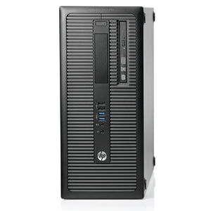 HP ProDesk 600 G1 Desktop Mini Tower PC Intel Quad Core i7-4770 3.4GHz Windows 10 Pro thumbnail