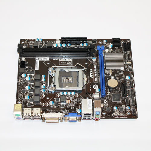 MSI H61M-P31 Motherboard LGA1155 with Heatsink I/O Shield Micro ATX