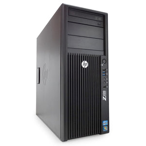 HP Z420 Workstation Tower Xeon E5-1660v2 3.7GHz 16GB Ram 480GB SSD 2TB HDD Windows 10 Pro thumbnail
