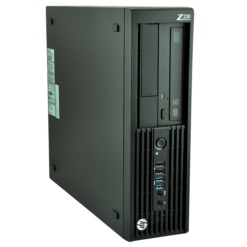 HP Workstation z230 SFF Business Desktop Computer Core i7 4790 3.6Ghz 8GB RAM 240GB SSD Windows 10 Pro