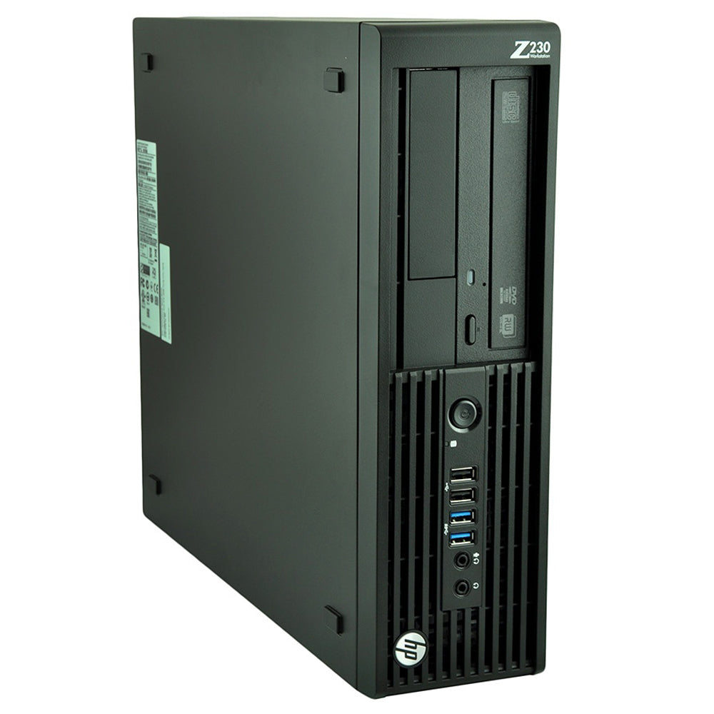 HP Workstation z230 SFF Business Desktop Computer Core i7 4790 3.6Ghz 16GB RAM 120GB SSD Windows 10 Pro