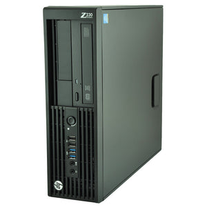 HP Workstation z230 SFF Business Desktop Computer Core i7 4790 3.6Ghz 8GB RAM 120GB SSD Windows 10 Pro thumbnail