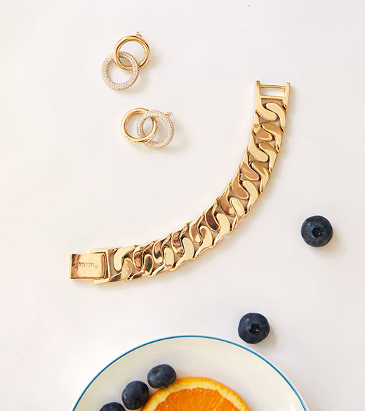 THE BIG CHAIN BRACELET BY NUMBERING
